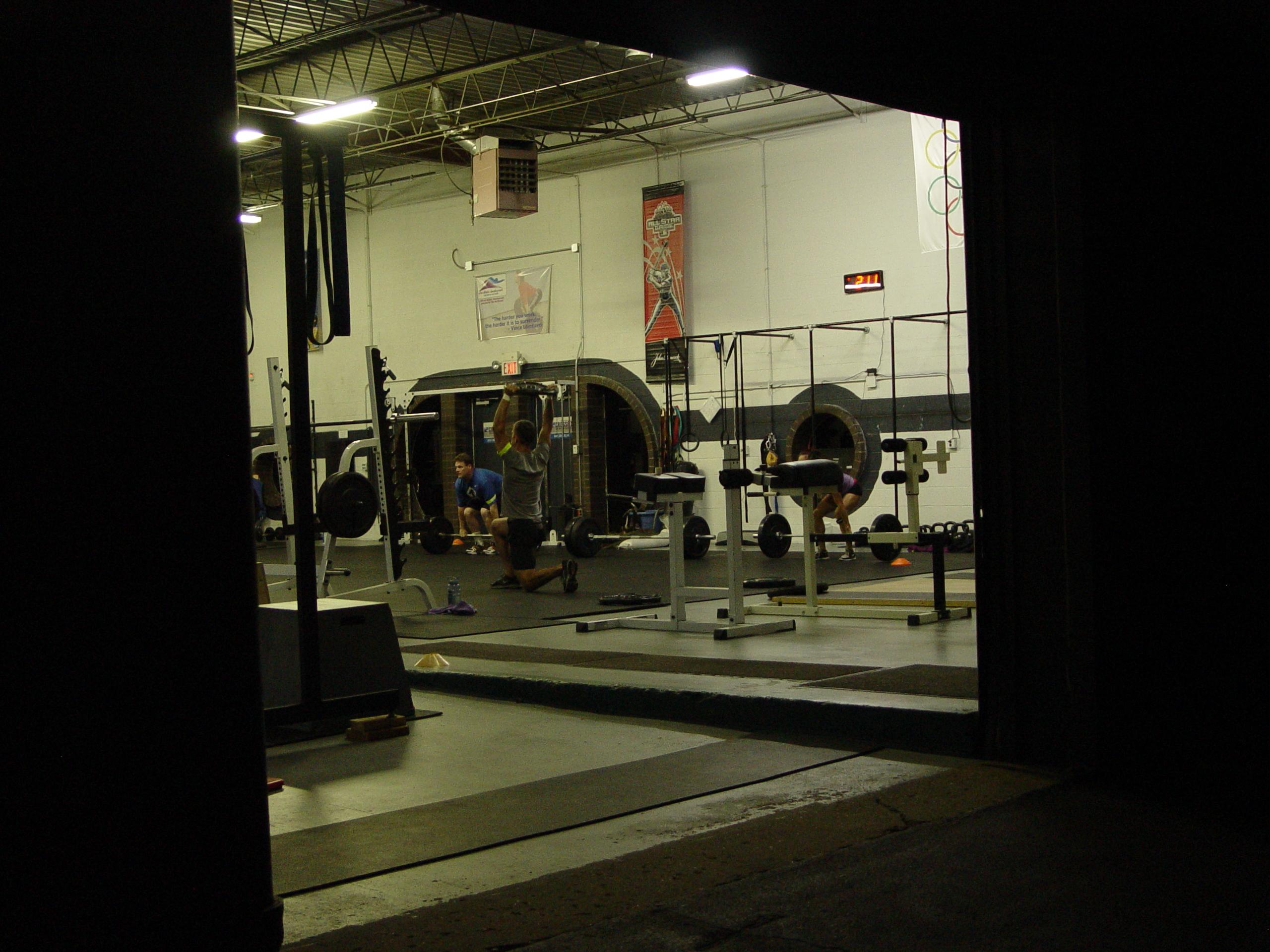 Garage gym reepicheep s coracle